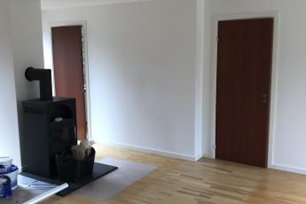 Indvendige døre og skillevæg